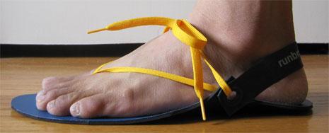 1ae6aa3e7115 Run Branca Running Sandal - Wear Tested