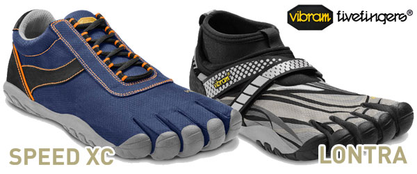 Denmark Mens Vibram Fivefingers Speed - Vibram Fingers Lontra Speed Xc