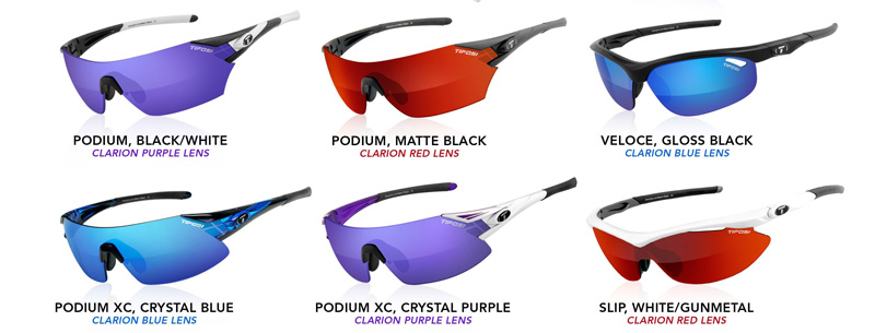 e4b0227308 Tifosi-Clarion-Collection. The Slip and Podium XC are now my favorite  sunglasses from Tifosi.