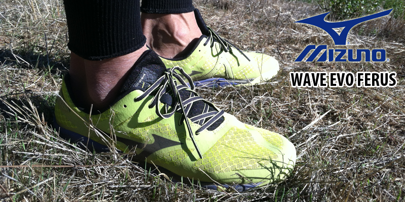 mizuno wave evo ferus trail review