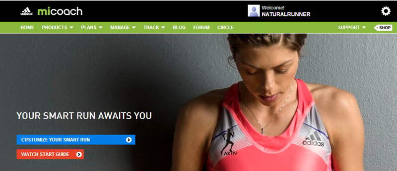 micoach-smart-run-customize-screen