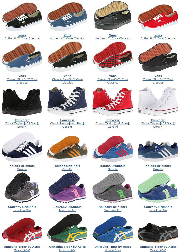 5e6226412b1e Retro days at Zappos! Over 150 shoes on sale. - Wear Tested