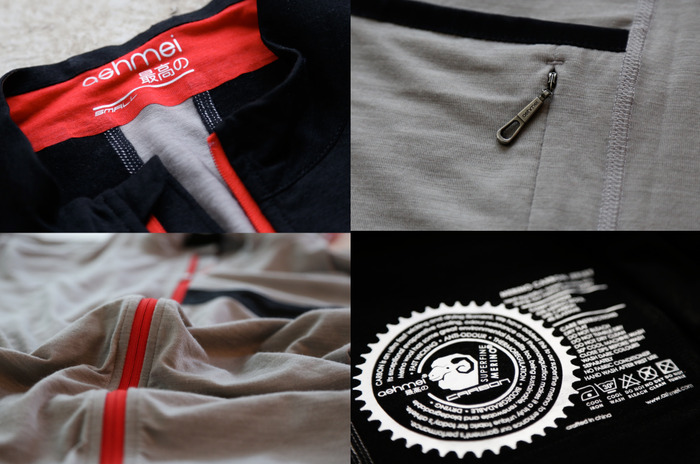 Ashmei-cycle-merino-carbon-jersey-closeup