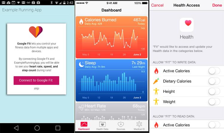 google-fit-apple-health-kit-screens