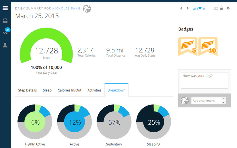 garmin-vivoactive-activity-breakdown
