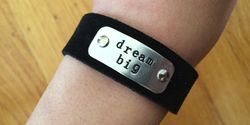 momentum-suede-cuff-dream-big