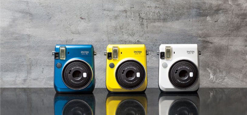 Fujifilm announces new INSTAX Mini 70 designed for easy selfies, low light shooting and instant fun!