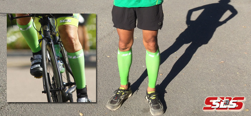 Boost your blood flow with the SLS3 FXC compression sleeves