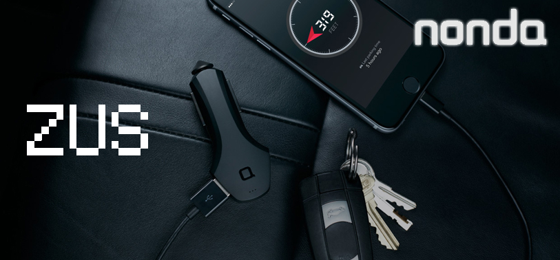 The nonda ZUS smart USB car charger and car finder