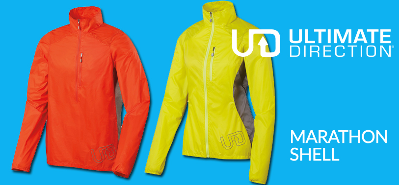 Ultimate Direction Marathon Shell running jacket