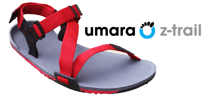 Introducing the ultra-lightweight trail-friendly Xero Shoes Umara Z-Trail sport sandal