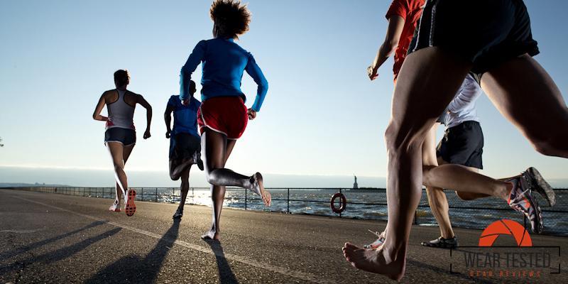 Barefoot Running in NYC. Photo: Jorg Badura