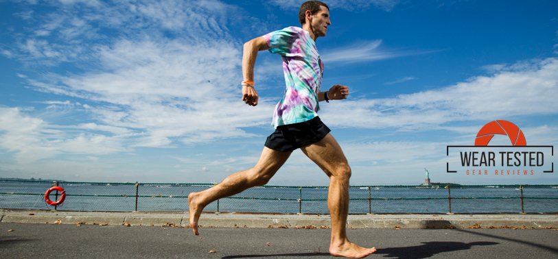 Running Barefoot Improves Working Memory