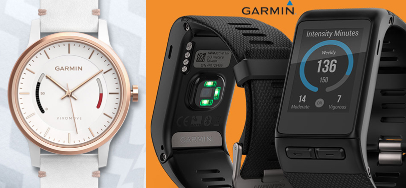 Garmin VIVOMOVE and VIVOACTIVE HR coming soon!