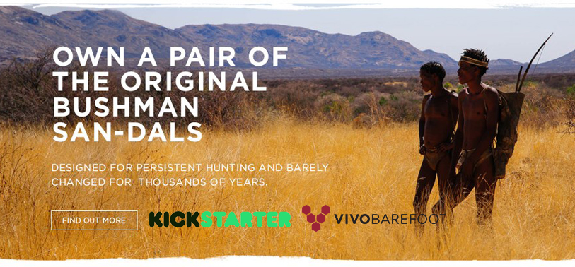 VIVOBAREFOOT San-dals on Kickstarter
