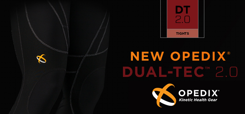 Reduce joint loading and pain with the Opedix DUAL-Tec 2.0 tights