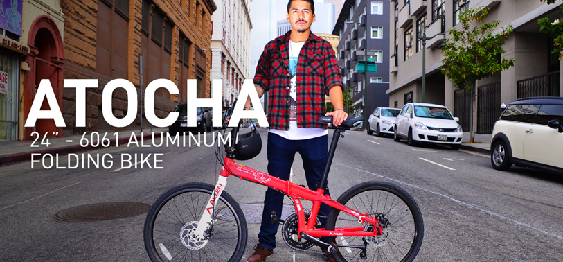 Beyond commuting with the Allen Sports Atocha folding bike