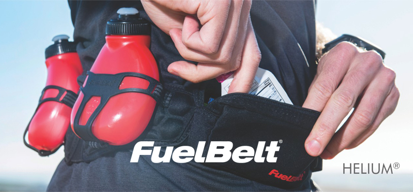 Hydrating with FuelBelt: Helium H3O and Sprint Palm Holder
