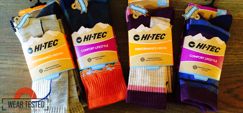Hi-Tec performance socks for your active lifestyle
