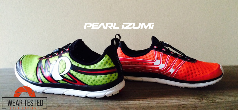 Running with Pearl Izumi E:MOTION Tri N1 v2 triathlon shoe