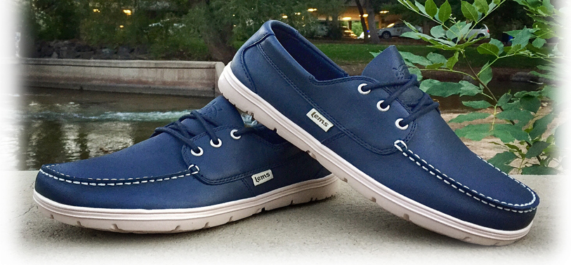 LEMs Shoes Mariner now available in Navy (Blue)