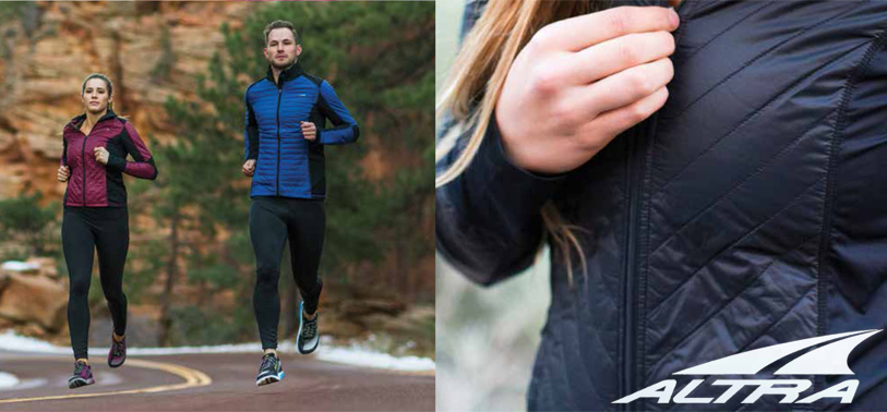 Altra Running Zoned Heat jacket and tights for Fall 2016