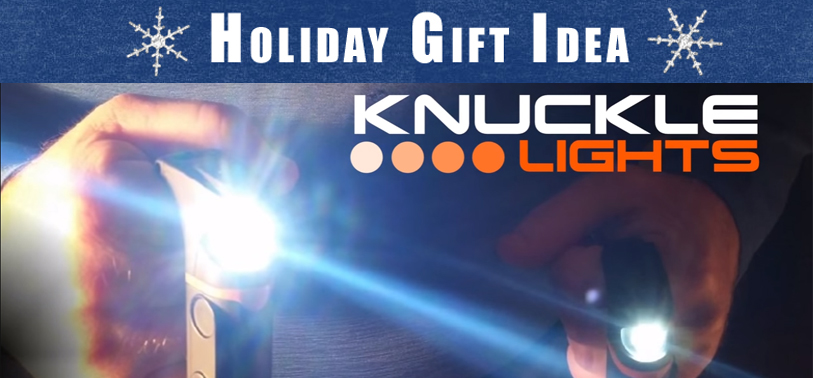 Holiday Gift Idea: Knuckle Lights Running & Walking  Rechargeable Lights