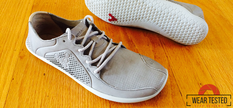 Wild moves in heel-to-toe natural leather with the VIVOBAREFOOT PRIMUS Lux