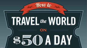 Must Read: How to Travel the World on $50 a Day