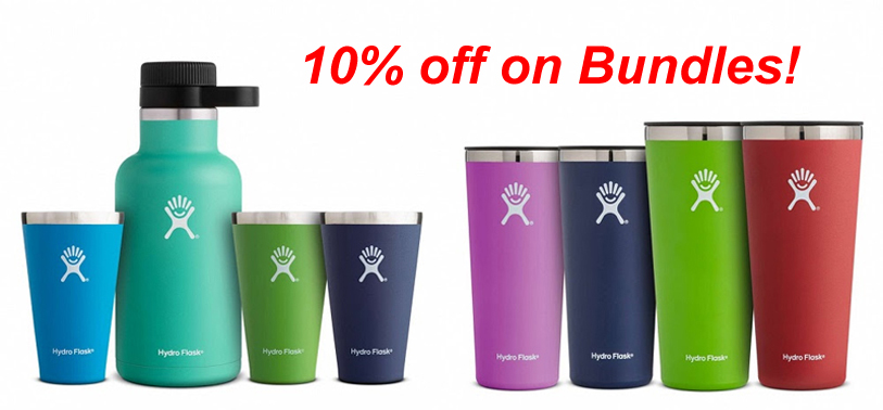 Hydro Flask Summer bundles – save 10%