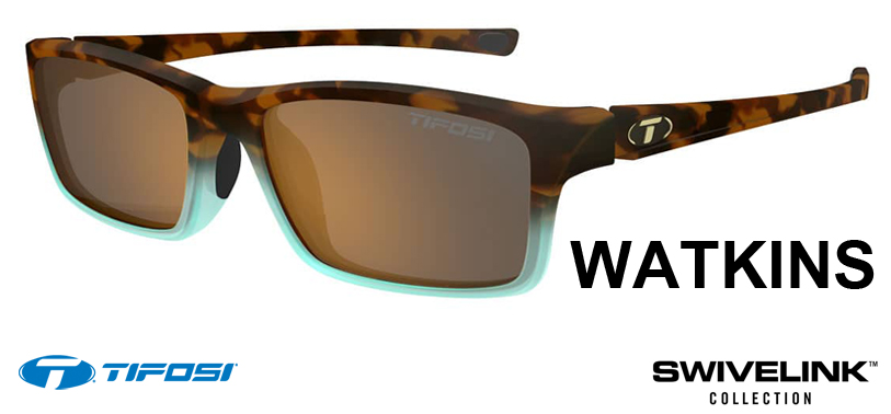 Tifosi Optics Watkins Swivelink – adapts to any activity