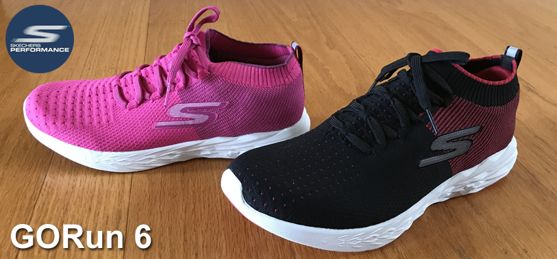 Train with the new light and fast Skechers GORun 6